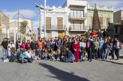 ESTUDIANTES ALEMANES VISITAN PICASSENT A TRAVES DE UN INTERCAMBIO CON LA NOSTRA ESCOLA COMARCAL