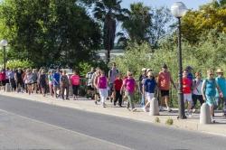 Una actividad saludable para los Mayores en Picassent