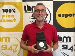 Vicent Rosaleny recibe la Insignia y Medalla de Plata al Mérito Deportivo de Balonmano en Picassent