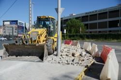 Una nueva rotonda mejorará los accesos en los polígonos de la Pasqualeta y Alqueria de Mina de Paiporta