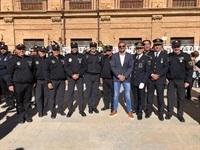 LA POLICÍA DE SILLA RECONOCIDA EN LA ENTREGA DE CONDECORACIONES QUE OTORGA LA GENERALITAT VALENCIANA.