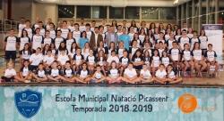 La Escuela Municipal de Natación de Picassent premia los méritos de sus deportistas