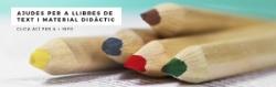 L'Ajuntament destina 31.920 € per a les ajudes a l'adquisició de llibres de text i material escolar per al segon cicle d'educació infantil
