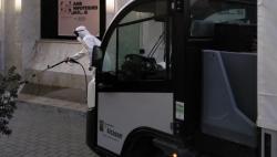 Alcàsser Incrementa la Desinfección de los Espacios Públicos