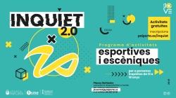Actividades deportivas y de artes escénicas en Inquiet 2.0, la nueva propuesta del Centre Jove de Paiporta