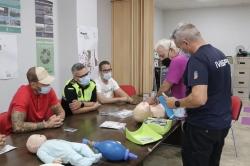 La Policía Local de Albal asiste al curso de actuación temprana, ante problemas cardiovasculares