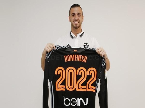 El Valencia CF y el jugador Jaume Doménech han alcanzado un acuerdo
