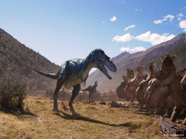 Más de 60.000 espectadores han visto la película 'Caminando entre dinosaurios: planeta prehistórico 3D' desde su estreno en el Hemisfèric