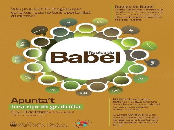 Paiporta lanza los 'Rogles de Babel' para dinamizar el intercambio de lenguas y culturas