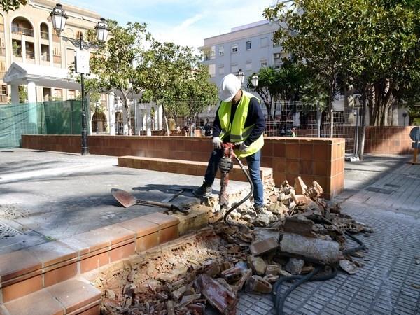 Empiezan las obras de adecuación de la Plaza Mayor de Paiporta