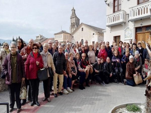 LOS MAYORES DE PICASSENT VISITAN ONTINYENT
