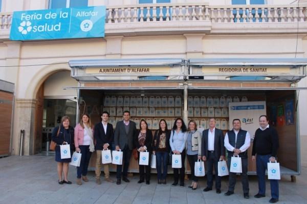 Alfafar clausura con éxito su V Feria de la Salud