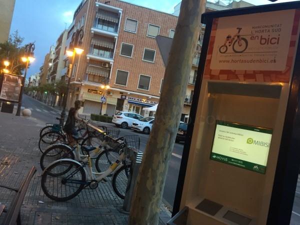 La Mancomunitat gestiona ya más de 200 bicicletas y 19 bases de aparcamiento