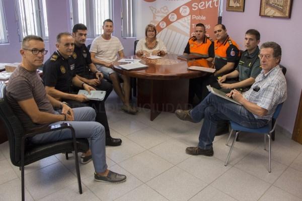 El Ayuntamiento de Picassent establece un protocolo para reforzar la seguridad durante las Fiestas Mayores