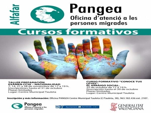 La oficina PANGEA de Alfafar estrena cursos formativos