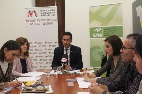 La Mancomunitat de la Horta Sud presenta un estudio estratégico comarcal que sienta las bases de las actuaciones supramunicipales en los próximos años