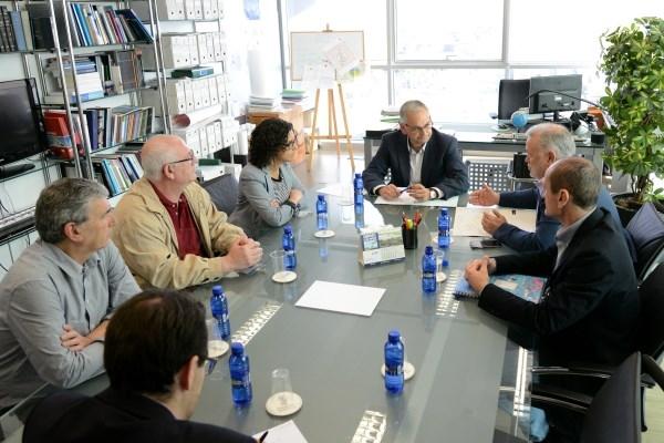 Generalitat y Ayuntamiento de Paiporta estudian las actuaciones previstas para mejorar las condiciones de seguridad de la estación de metro