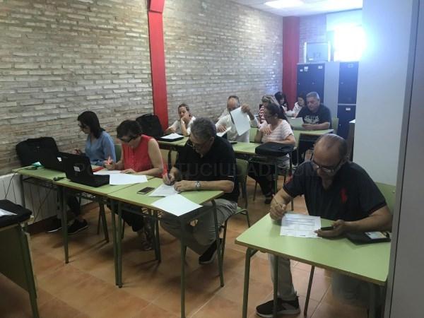 Las personas usuarias del proyecto de inserción laboral del ACCO participan activamente en unas jornadas empresariales en Torrent