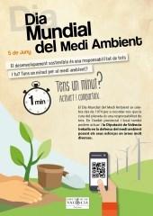 La Diputació de València, comprometida con el desarrollo sostenible en el Día Mundial del Medio Ambiente