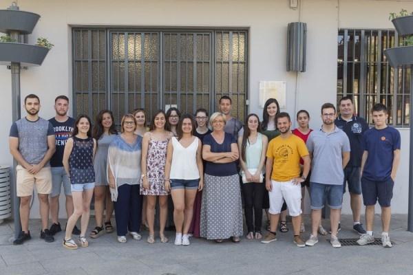 16 jóvenes de Picassent empiezan las prácticas en los diferentes departamentos municipales