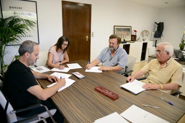 El ayuntamiento renueva los convenios con las dos bandas musicales de Paiporta