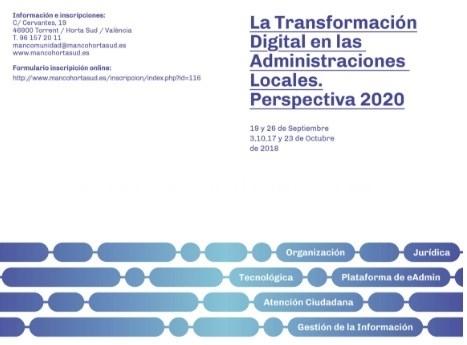 LAS CLAVES DE LA TRANSFORMACIÓN DIGITAL, DE LA MANO DE LA MANCOMUNITAT HORTA SUD