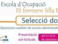 INICIAN LOS PROCESOS DE SELECCIÓN DE DOCENTES PARA EL TALLER ET FORMEM SILLA EMPLEA