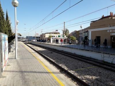 La Generalitat licita las obras de un nuevo paso inferior y la instalación de ascensores en la estación de Paiporta de Metrovalencia