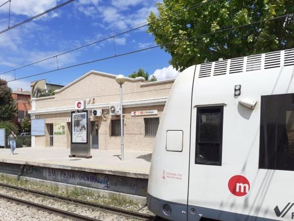 La Generalitat remodelará la estación de Picanya de Metrovalencia para dotarla de nuevos accesos y líneas de validación