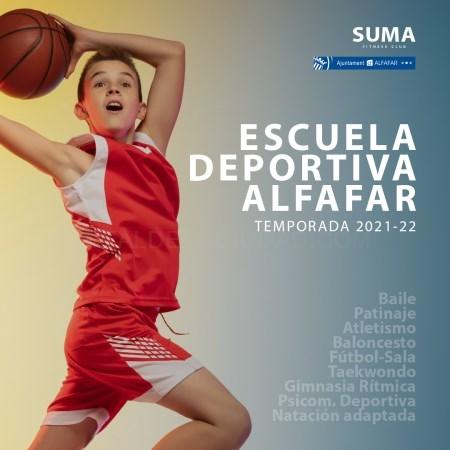 Alfafar inicia la matrícula de la Escuela Deportiva Municipal