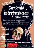 CURSO DE INTERPRETACIóN ANUAL 2016-2017 PARA EL GRUPO INFANTIL (DE 6 A 10 AñOS) EN TORREVIEJA