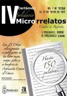 IV Certámen Solidario de Microrrelatos