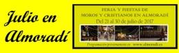 FIESTAS 2017: ACTOS PARA MIéRCOLES 26 DE JULIO