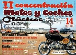 II CONCENTRACIóN MOTOS Y COCHES CLáSICOS