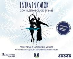 TODOS LOS VIERNES ENTRA EN CALOR CON NUESTRAS CLASES DE BAILE