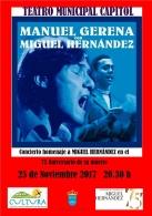 CONCIERTO HOMENAJE A MIGUEL HERNANDEZ