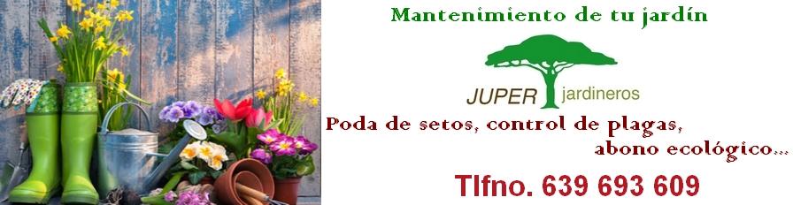 JUPER JARDINEROS, mantenimiento de jardines
