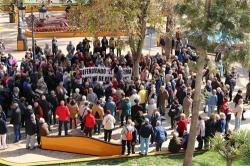 MÁS DE 300 PERSONAS SE CONCENTRAN EN DEFENSA DEL SISTEMA PÚBLICO DE PENSIONES