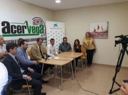 Firma Convenio entre Obra Social La Caixa y Acervega