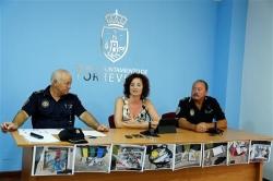 LA UNIDAD MARITIMA DE LA POLICIA LOCAL RECOGE VOLUNTARIAMENTE MEDIA TONELADA DE PLASTICO EN LO QUE LLEVAMOS DE CAMPANA DE VERANO