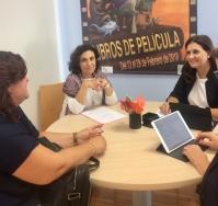 LA DIRECTORA TERRITORIAL DE EDUCACION VISITA ORIHUELA PARA CONOCER LA SITUACION DE LOS CENTROS DEL MUNICIPIO