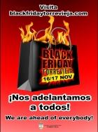 LOS COMERCIOS DE TORREVIEJA SE ADELANTAN AL BLACK FRIDAY