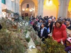 Orihuela abre el Belén Municipal con una composición artística formada por más de 400 figuras y elementos