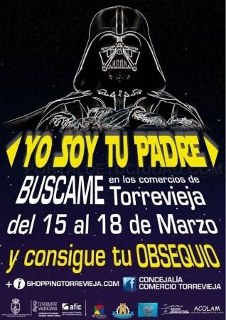 """TORREVIEJA PRESENTA LA CAMPAñA """"YO SOY TU PADRE"""" EN APOYO AL COMERCIO LOCAL"""