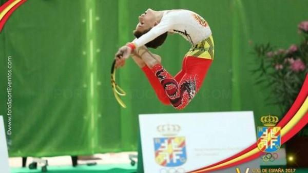 Rubén Gil se convierte en campeón de España en gimnasia rítmica