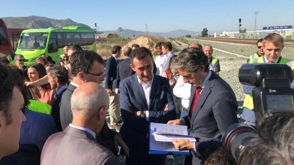 Las obras de la Alta Velocidad Madrid-Elche-Murcia entran en su recta final