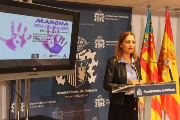 Orihuela conmemorará el Día Internacional Contra la Violencia de Género con diferentes actos y una marcha el 24 de noviembre