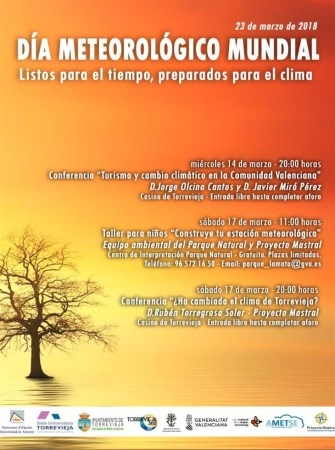 La Sede de la UA en Torrevieja programa unas jornadas sobre el Cambio Climático