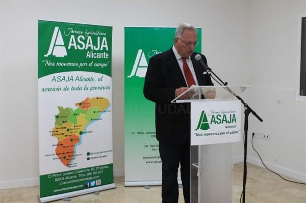 ASAJA inaugura nueva oficina en Almoradí y amplía su red en la comarca para estar más cerca de los agricultores y ganaderos de la Vega Baja