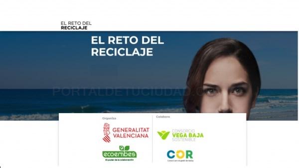 Participa en el Reto del Reciclaje en Almoradí